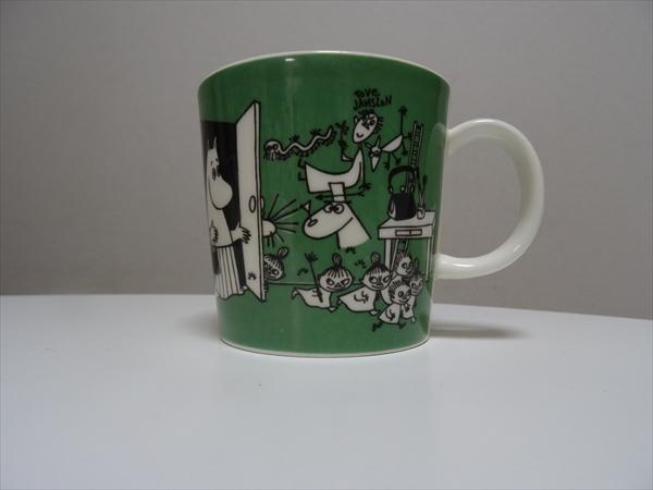 ムーミンのマグカップ