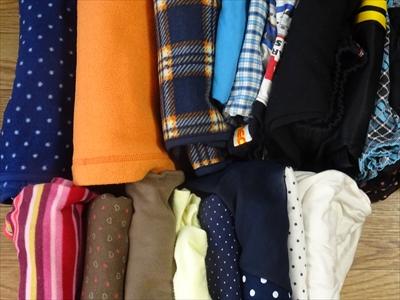 入学・進級の機会に子供の服を処分しました。