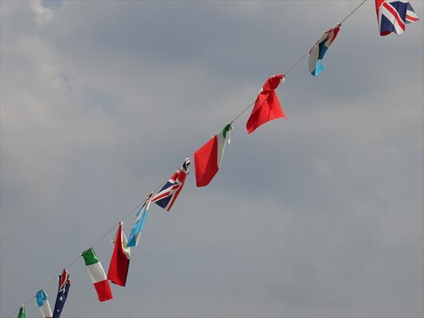 万国旗イメージ