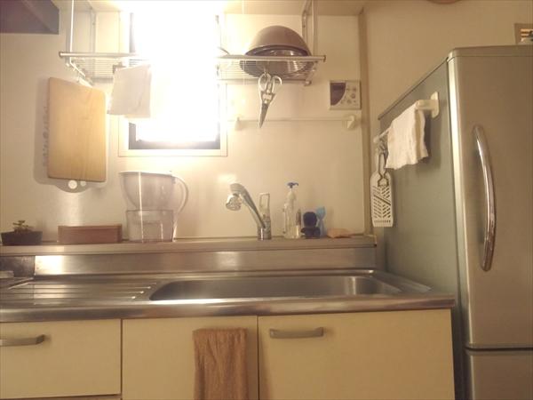 キッチンの断捨離をおえたとき、残った電化製品は4つでした。