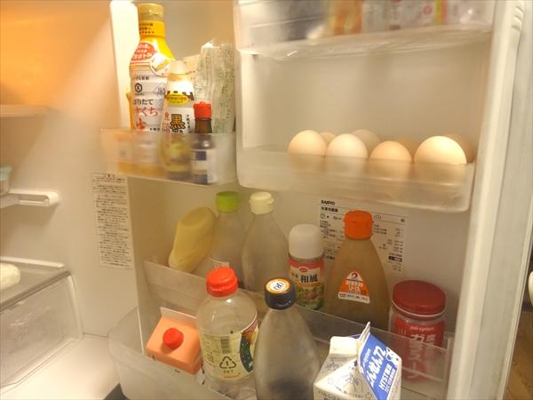 捨て活、冷蔵庫の扉収納、公開