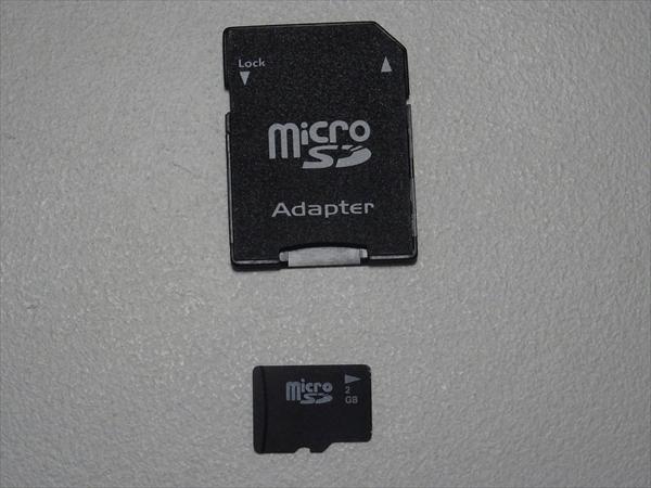 マイクロSDカード、アダプター