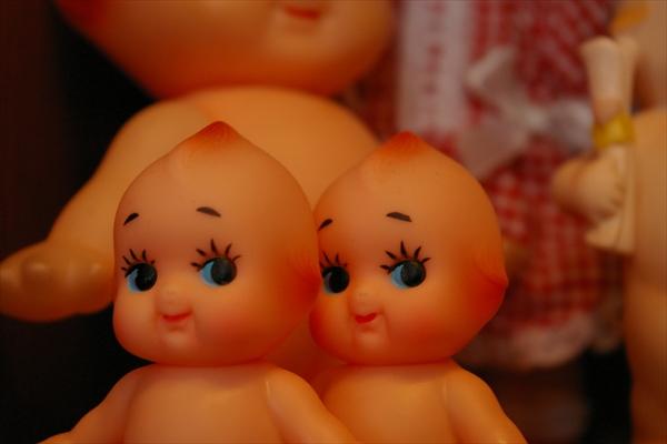 人形イメージ、キューピー