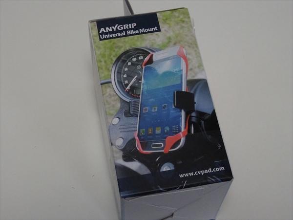AnyGrip 自転車 バイク スマートフォン用 ロールバー マウントホルダー