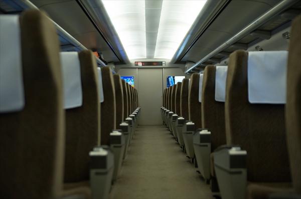 電車の車内イメージ