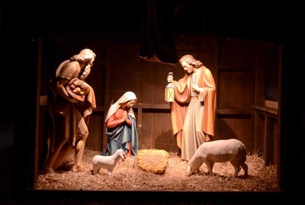 キリスト生誕人形、クリスマスイメージ