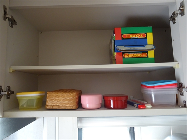 使いにくい収納場所、捨て活、キッチン、つり戸棚、シンク上の棚