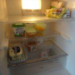 食品のストックを減らして、習慣の見直しをしています。
