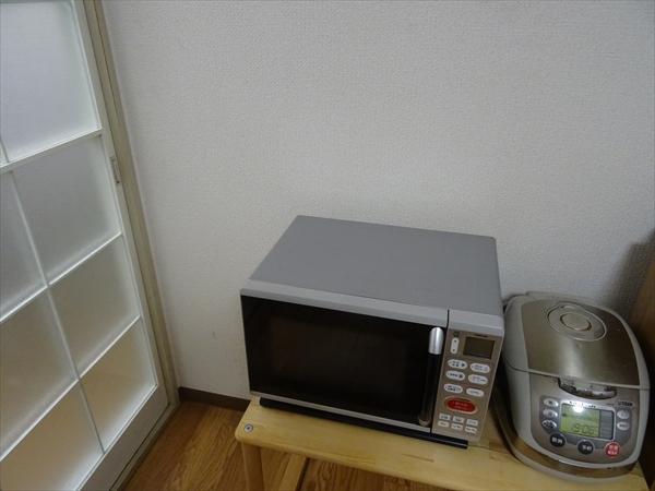 キッチン捨て活、電子レンジ、炊飯器