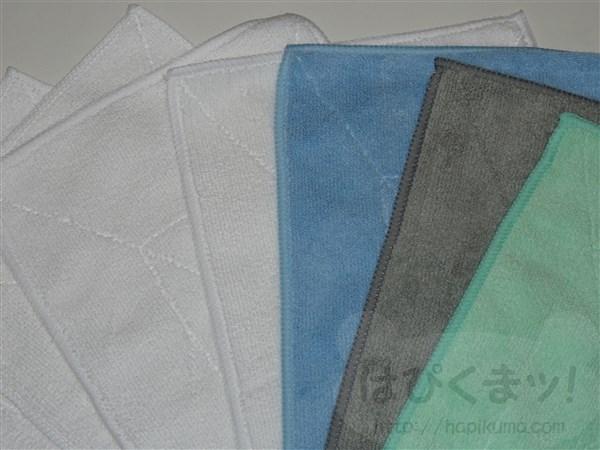 ダイソー、マイクロファイバー雑巾