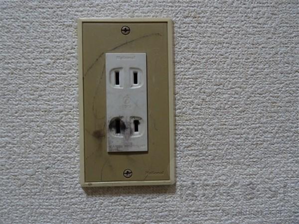 コンセント、子供のいたずら、感電
