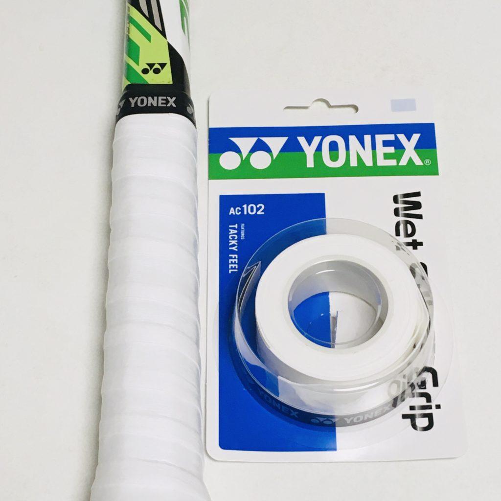 YONEX グリップテープ ウェットスーパーグリップ